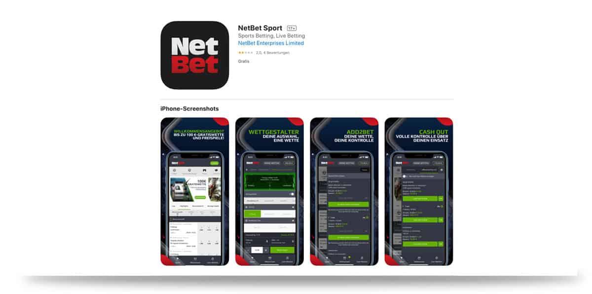 Netbet App iOS iPhone Apple