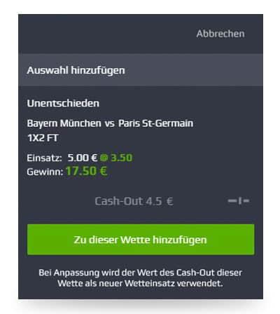 Wettschein Added2bet NetBEt