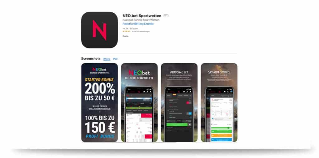 Neobet App ios