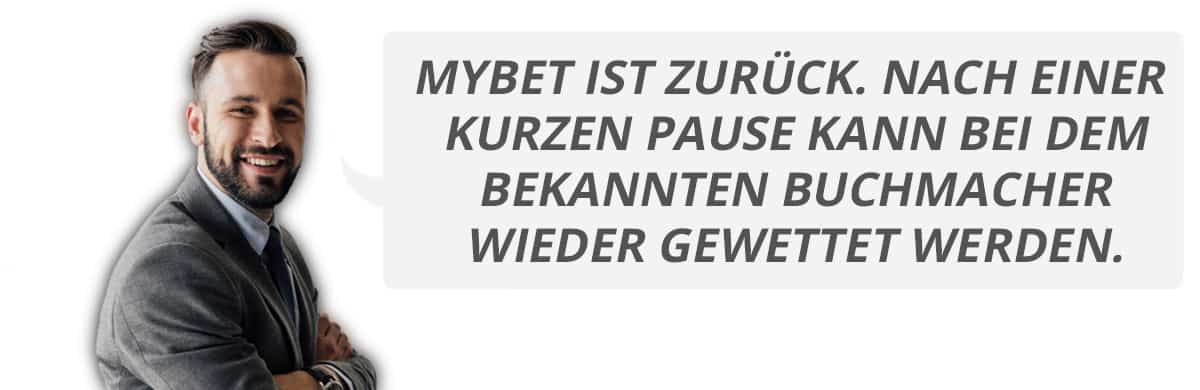 Erfahrungsbericht Mybet