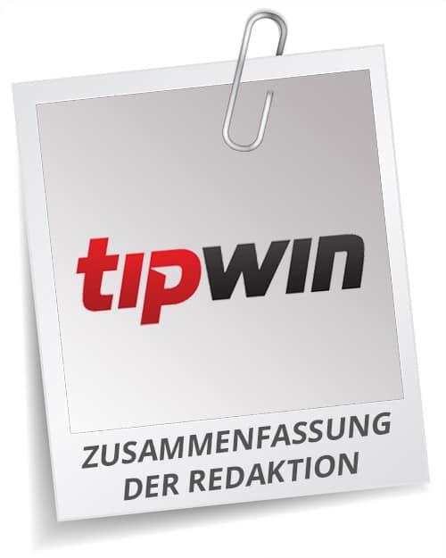 TipWin Testergebnis