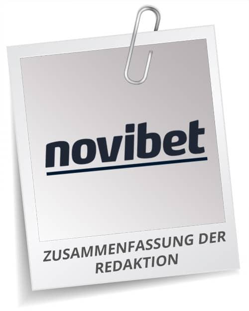 Novibet Testbericht Fazit