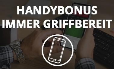 Spieler macht einen Wettbonus Vergleich am Handy