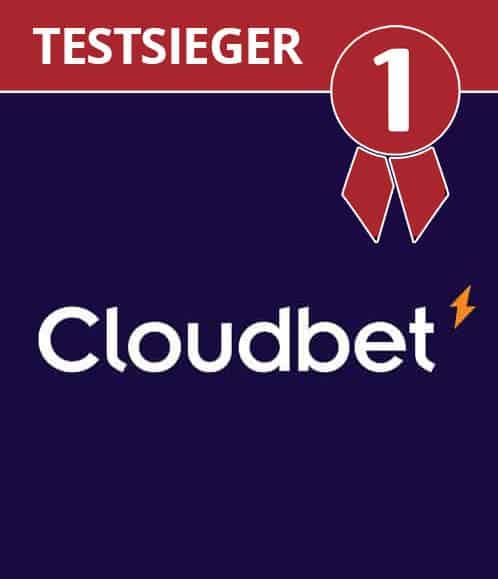 Testsieger BitCoin Wettanbieter Cloudbet