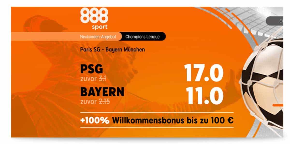888sport Paris Bayern
