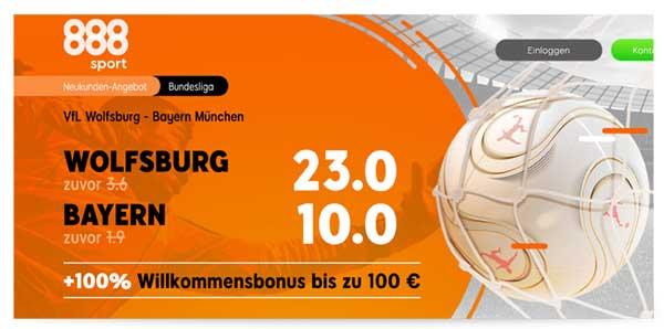 888sport Wolfsburg Bayern