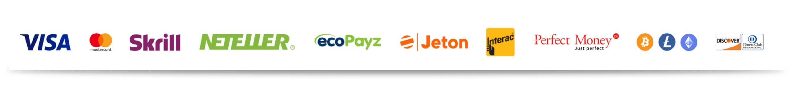 20bet Ein- und Auszahlungsmöglichkeiten