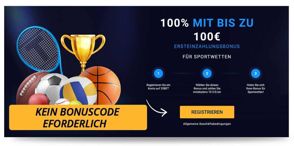 20bet Bonus Code