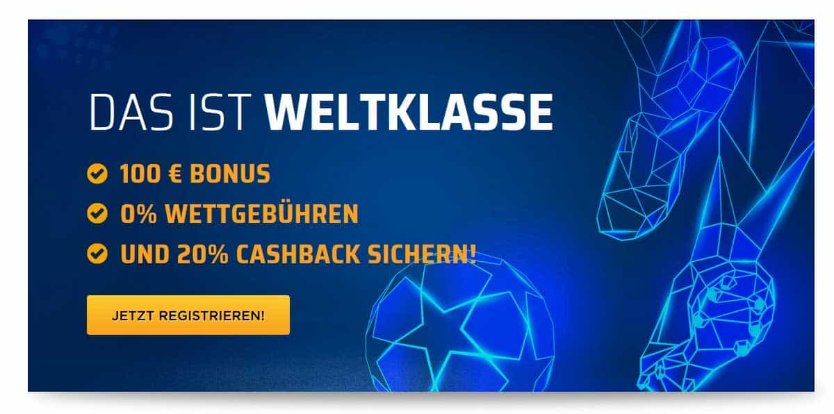 bet3000 100 Euro Bonus