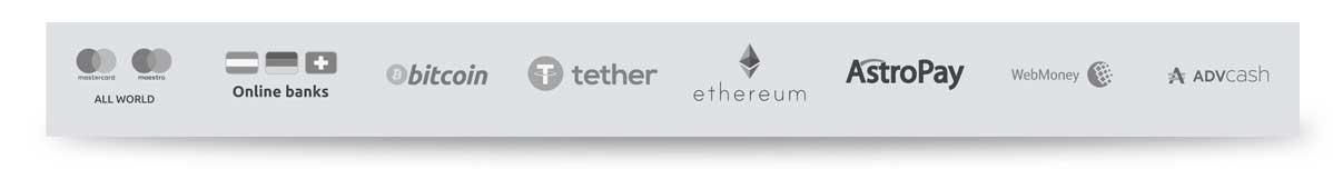 Cyberbet Zahlungsmöglichkeiten Bitcoin Ethereum