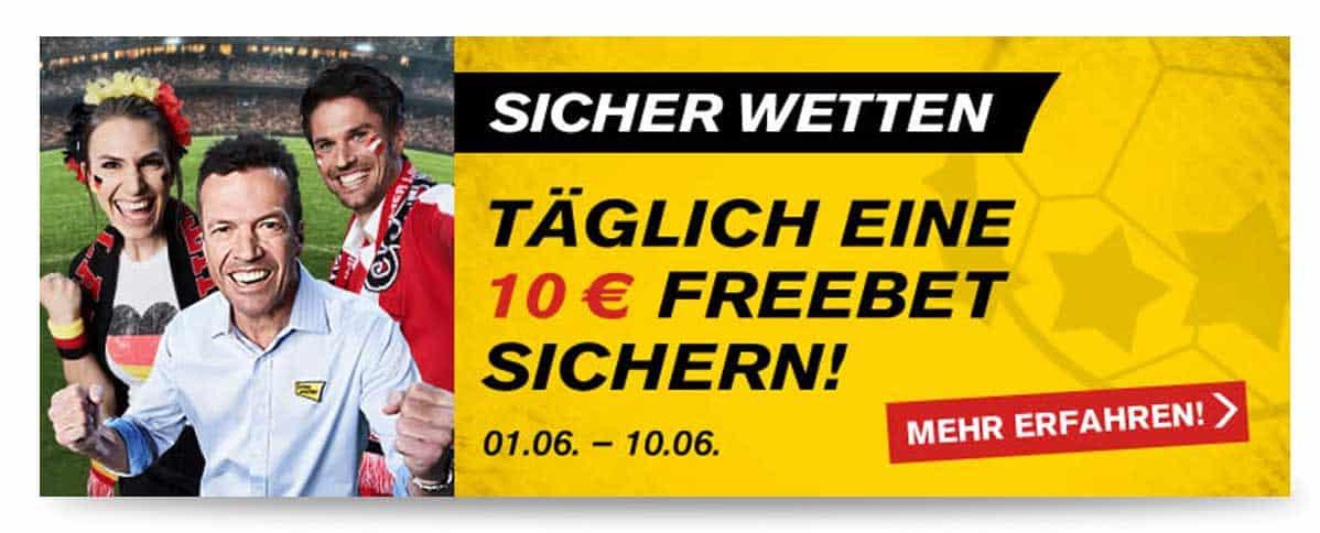 Interwetten EM Gutschein 10 Euro