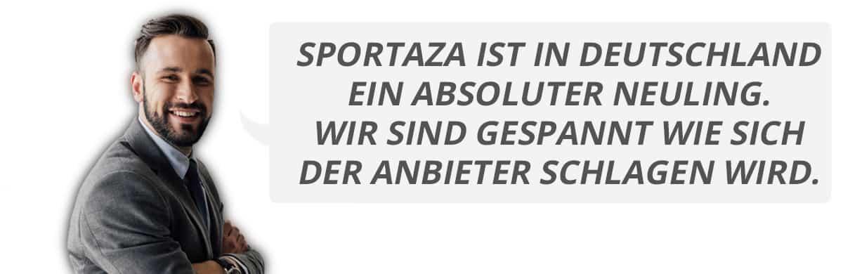 Jans Erfahrungen mit Sportaza