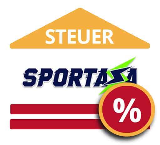 Steuer bei Sportaza